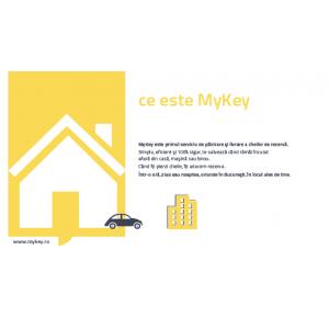 MyKey. Serviciu de livrare rapida a cheilor tale de rezerva.
