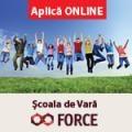 Scoala de Vara FORCE-Drumul catre un infinit de oportunitati!