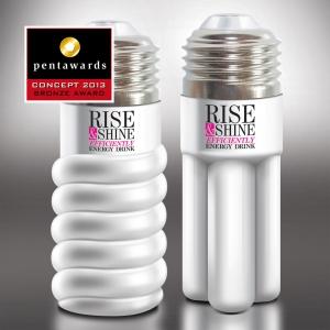 rise shine. Remark Studio – premiere cu bronz la sectiunea Pentawards Concept 2013 pentru conceputul Rise&Shine energy drink