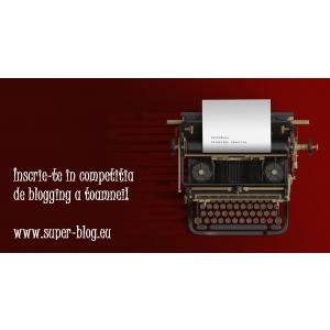 Competiția de blogging creativ SuperBlog, la a 15-a ediție