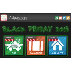 Black Friday in asigurari: preturi reduse la minim pe i-Asigurare.ro