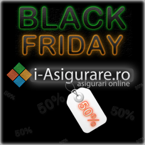 Black Friday: 50% reducere pe i-Asigurare.ro