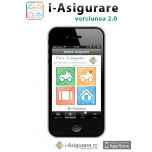Versiunea 2.0 a aplicatiei i-Asigurare este disponibila in App Store