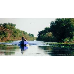 navod de pescuit. Delta Dunării rămâne destinația preferată a pescarilor.