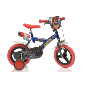 magazin biciclete. Biciclete copii Dino Bikes Spiderman - http://lumeacopiilor.com.ro/biciclete-copii/898-biciclete-copii-spiderman-163-gs.html