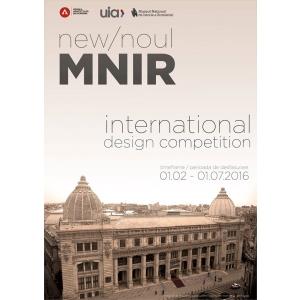 """MNIR.  Conferință de presă privind anunțarea câștigătorului concursului internațional de soluții de arhitectură """"Noul MNIR"""""""