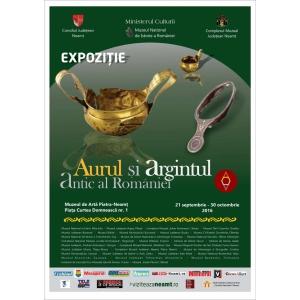 """Deschiderea expoziției """"Aurul și argintul antic al României"""" la Piatra Neamț"""