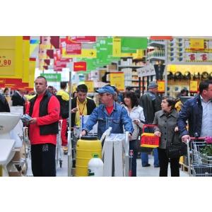 cluj. Deschiderea magazinului bauMax Cluj II