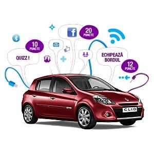 """Grapefruit semnează campania digitală """"Mașina interactivă"""" pentru Renault Clio Yahoo!"""