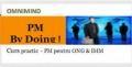 cortina flexibila. Noua formula flexibila pentru desfasurarea cursului de initiere in Managementul de Proiect, 'PM BY DOING' !