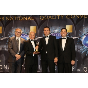 """avi prod grup. AVI Prod Grup, România, câștigătoare a trofeului """"BID International Star for Leadership in Quality"""" în Paris – iunie 2015"""