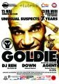 unusual. [15 MAI] GOLDIE @ MIDI CLUJ - Unusual Suspects 7 YEARS!