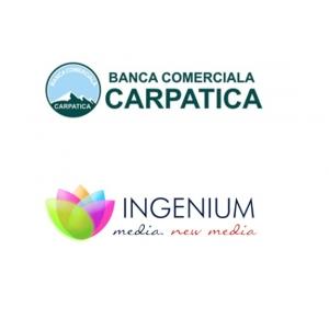 ingenium. Ingenium Media devine agentia oficiala de media a Bancii Comerciale Carpatica in 2013