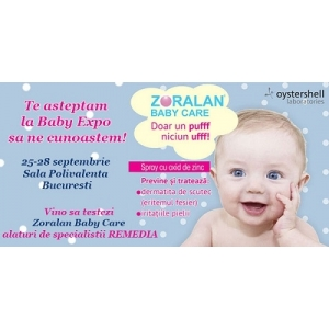 zoralan baby care spray. ZORALAN BABY CARE te asteapta la Baby Expo!
