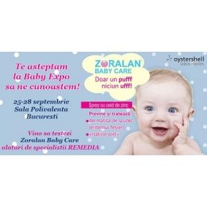 baby care. ZORALAN BABY CARE te asteapta la Baby Expo!