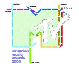 MTV Romanian Music Awards 2005 Ediţia a treia