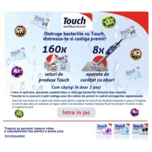 aplicatie au. Aplicatie Distruge bacteriile cu Touch