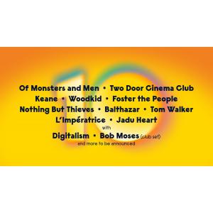 Two Door Cinema Club, Keane, Foster the People, Balthazar, L'Imperatrice si Jadu Heart se alatura artistilor care vor urca pe scena Summer Well 2020