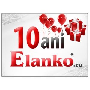 10 ani Elanko.ro – Sărbătorim cu Super Oferte şi Zeci de premii aniversare !