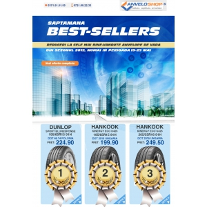 anveloshop. Saptamana Best Sellers