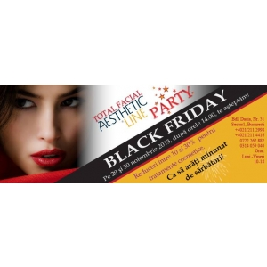 Total Facial Aesthetic Black Friday pe 29 noiembrie la clinica