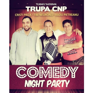 CNP. TURNEU NATIONAL - Comedy Night Party - TRUPA CNP
