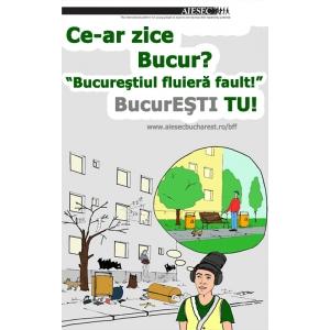 AIESEC Bucuresti. AIESEC Bucuresti si Institutul de Transfuzii din Bucuresti va asteapta la Bucurestiul Fluiera Fault!