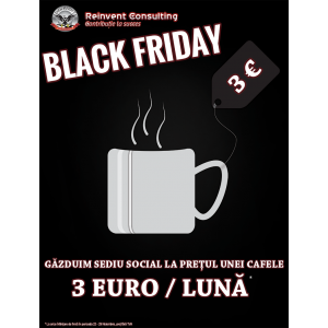 Oferta noastra soc de Black Friday!