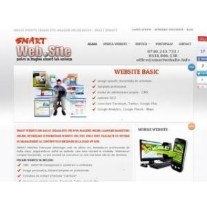 site web. Web design, creare web site, magazin online Bacau