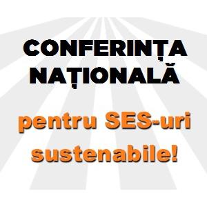 SES. conferinta nationala pentru ses-uri sustenabile