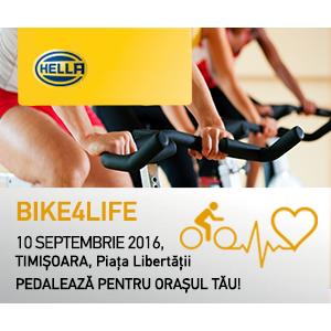 Bike4Life: Pedalează pentru orașul tău și, împreună, sărbătorim 10 ani de activitate HELLA România