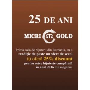 Un sfert de secol Micri Gold în România