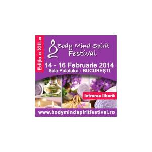 Te asteptam maine la Body Mind Spirit Festival