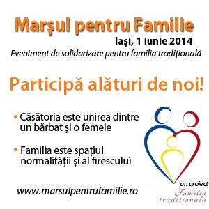 1 iunie 2014. Marşul celor 5 000 de morişti – simbol al valorilor tradiţionale ale familiei - Iaşi, 1 iunie 2014