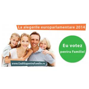 alegeri 2014. În 2014, EU votez pentru Familie!