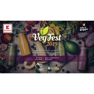 VegFest 2019 – Festivalul cu cea mai mică amprentă de carbon din România! 21-23 iunie, Casa Universitarilor, București