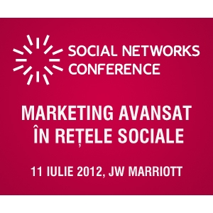 social networks conference. Evensys prezinta Social Networks Conference: marketing avansat  in retelele sociale