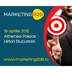 B2B STRATEGY. Ultima sansa de a participa la cel mai important eveniment dedicat marketingului B2B! Afla cum sa castigi teren in fata concurentei!
