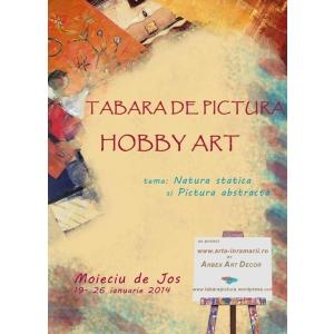 tabara de pictura. Tabara de pictura Hobby Art pentru adulti cu Arbex Art Decor