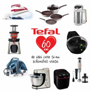 teen media. Tefal 60 ani