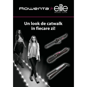 modelling. Rowenta for Elite Model Look