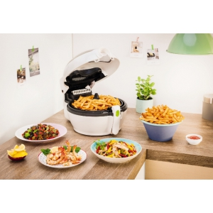 comandă online mâncare delicioasă la biro. Soluții inteligente pentru o masă delicioasă și sănătoasă cu Optigrill®+ și ActiFry de la Tefal