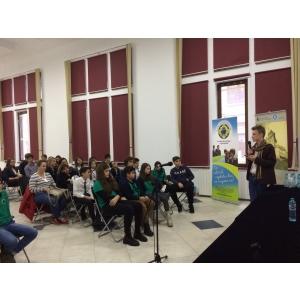 Discursuri ale elevilor in proiectul Arta dezbaterii si cetatenie europeana