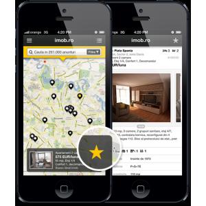 imob. Imob pentru iPhone. Cea mai eficienta cale de cautare a anunturilor imobiliare.