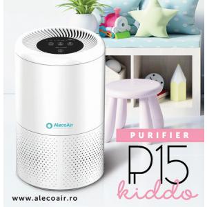 AlecoAir P15 KIDDO, un purificator de aer cu 5 sisteme de filtrare si consum redus de energie
