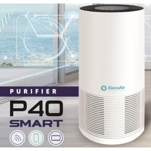 AlecoAir P40 SMART, purificatorul de aer inteligent ce permite monitorizarea si controlul calitatii aerului de la distanta