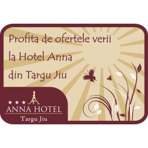Vara e o sarbatoare continua la Hotel Anna din Targu Jiu