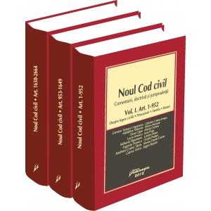 comentarii. Noul Cod civil. Comentarii, doctrina si jurisprudenta