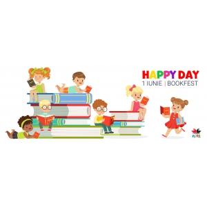 1 iunie este Happy Day la Litera mică, Bookfest 2018