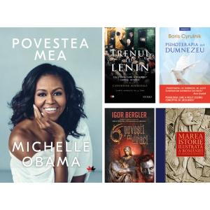 """Autobiografia semnată de Michelle Obama, """"Povestea mea""""  cea mai vândută carte Litera la Gaudeamus 2018!"""